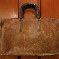 ビンテージ70's●オールドコーチレザーブリーフケース茶●200708s5-bag-brf 1970s COACH USA製書類鞄バッグ