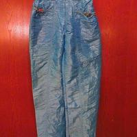 ビンテージ80's●CHAMSレディースナイロンパラシュートパンツ水色size3●201001f2-w-pnt-ot-w26古着ボトムスアウトドア