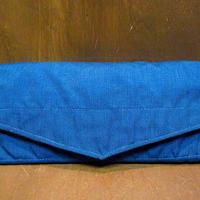 ビンテージ80's●Eddie Bauer ナイロンツールバッグ青●201017n7-bag-pch エディーバウアーアウトドアポーチ