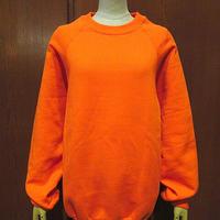 ビンテージ90's●DEADSTOCK Lee裏起毛ラグランスウェット橙size L●210228s7-m-sws古着トレーナーリーUSA製デッドストックオレンジ