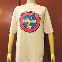 ビンテージ70's80's●CRESCENT LAKE LODGE & RESORTプリントTシャツsize XL●200823s4-m-tsh-otロッジリゾートUSAメンズトップス