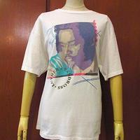 ビンテージ90's●LUTHER VANDROSS両面プリントコットンTシャツ白size L●200721s6-m-tsh-bnルーサー・ヴァンドロス古着USA半袖