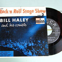 BILL HALEY and his comets●Rock'n Roll Stage Show PART 3 DECCA ED 2418●210111t4-rcd-7-rk米盤ロカビリー50's