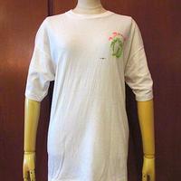 ビンテージ80's90's●PINK PINGUIN PRODUCTS両面プリントTシャツ白●200816s4-m-tsh-ot古着USAトップスメンズ半袖