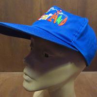 ビンテージ●Switzerland刺繍スナップバックキャップ青●210416n2-m-cp-bb帽子スイスブルー6パネルメンズUSA