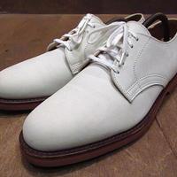 ビンテージ●COLE-HAANホワイトバックス9B●210114n4-m-dshs-27cm コールハーン革靴ヌバックプレーントゥシューズ白