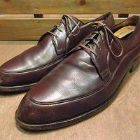 ビンテージ50's●FLORSHEIM Uチップシューズ茶11B●200604n1-m-dshs-29cm 1950sフローシャイム革靴レザードレスシューズ