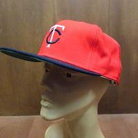DEADSTOCK New Era ミネソタ・ツインズウールキャップ赤●201219n5-m-cp-bb MBLニューエラ帽子メジャーリーグ野球