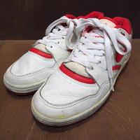 ビンテージ80's●NIKE SKY FORCE Low 白×赤 size 7 1/2●200831n7-m-snk-24cm古着ナイキスニーカーバスケットボールシューズ靴