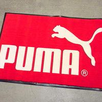 DEADSTOCK PUMA アドバタイジングフィッティングマット●210212s7-rug プーマ販促雑貨ラグディスプレイ