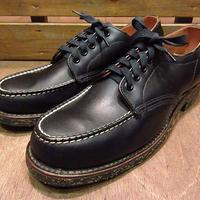 ビンテージ40's50's●DEADSTOCK MILWAUKEE KINGモックトゥワークブーツ黒6C●200621n5-w-bt-245cm 1940s1950sデッドストックレディース