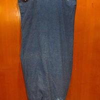 ビンテージ●デニムランドリーバッグ●210219f7-bag-otダッフルバッグバラックバッグUSAかばん