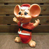 ビンテージ70's●HURON PRODUCTS CO.フロリダマウスバンクサンタクロースB●200929n4-doll 1970s貯金箱コインバンク銀行クリスマス人形