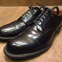 ビンテージ70's●U.S.NAVY 6アイレットサービスシューズ7 1/2 D●201122n2-m-dshs-26cm 1970s民生品ミリタリー米軍実物USN革靴