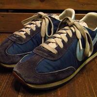 ビンテージ80's●NIKEレディオセアニア青Size6●210622i14-w-snk-23cm 1980sナイキレディーススニーカー