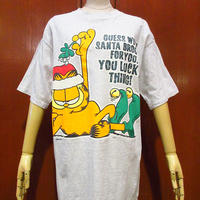 ビンテージ90's●ガーフィールドプリントTシャツ L●210401s2-m-tsh-ot キャラクター半袖トップス古着