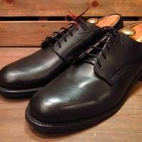 ビンテージ70's●DEAD STOCK U.S.NAVYサービスシューズ10 1/2N●210324s12-m-dshs-285cm 1970sデッドストックミリタリーUSN海軍革靴