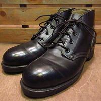 ビンテージ70's●DEADSTOCKミリタリーEHチャッカブーツ黒7N●200618n4-m-bt-265cm 1970sデッドストック米軍実物靴