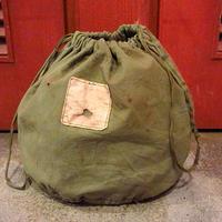 ビンテージ60's●U.S.Medical Corps ステンシル入りパーソナルエフェクツバッグ●200702s9-bag-pch ミリタリーポーチ巾着