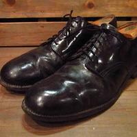 ビンテージ50's60's●U.S.NAVY6アイレットサービスシューズ●210324s11-m-dshs-28cm 1950s1960sミリタリーUSN海軍革靴