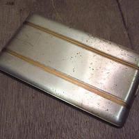ビンテージ●ELGINメタルシガレットケース●210222n4-otclct シガータバコ入れエルジン