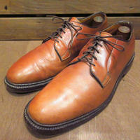 ビンテージ70's●プレーントゥシューズ茶size 8D●201127n7-m-dshs-26cmドレスシューズブラウン古靴革靴USAメンズレザーシューズ