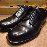 ビンテージ60's●U.S.NAVY 6アイレットサービスシューズ9R●200702n1-m-dshs-275cm 1960sミリタリー米軍実物USN海軍革靴