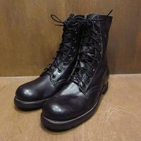 ビンテージ60's●DEADSTOCK U.S.ARMYコンバットブーツ黒size 8N●210325n2-m-bt-26cmデッドストックミリタリー米軍実物靴