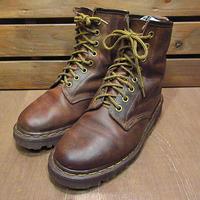 MADE IN ENGLAND Dr.Martens 8ホールレザーブーツ茶●201225n7-w-bt-22cm古靴ドクターマーチンレディース女性用イングランド製革靴