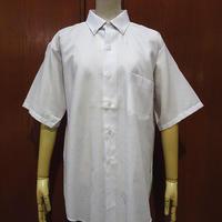 ビンテージ70's●DEADSTOCK glen Craft半袖ボタンダウンドレスシャツ白15 1/2●210623i1-m-sssh-ot 1970sデッドストックワイシャツ
