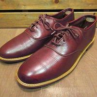ビンテージ70's●FREEMANプレーントゥシューズsize 約28cm●200925n6-m-dshs-28cmフリーマン革靴古靴USAドレスシューズ古着