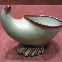 ビンテージ50's60's●FRANKOMAセラミックプランター●201224n6-otclct 1950s1960sフランコマ植木鉢陶器小物入れ