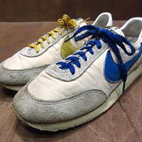 ビンテージ80's●NIKEスウェード×ナイロンスニーカー9●210208n2-m-snk-25cm 1980sナイキ靴