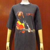 ビンテージ90's●TOM COCHRANEツアーTシャツ黒size XL●210615s2-m-tsh-bnトムコクラン古着音楽シンガーソングライターコットンUSA製