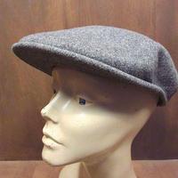 KANGOLウールハンチング帽グレー●210319n2-m-cp-htgカンゴールメンズ帽子キャップ灰色無地