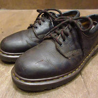 MADE IN ENGLAND●Dr.Martens 5ホールシューズ焦げ茶8●210614n1-m-dshs-26cm 英国製ドクターマーチン革靴メンズ