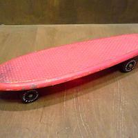 ビンテージ70's●ROLLER DERBY NO.15P スケートボード●200701n8-otclct スケボーミニクルーザーディスプレイレトロ雑貨