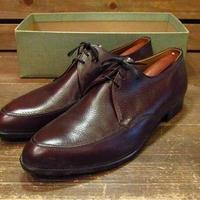 ビンテージ70's●DEAD STOCK WESBOROオックスフォードシューズsize11●210602s15-m-dshs-29cm 1970sデッドストック革靴メンズ