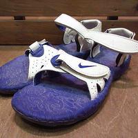 ビンテージ90's●NIKE ACG AIR Deschutzレディースサンダル紫8●200816n3-w-sdl-25cm 1990sナイキエアーデシューツアウトドア
