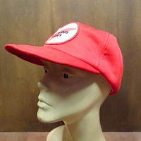 ビンテージ70's80's●RED WINGスナップバックキャップ●201118n6-m-cp-bb USA製レッドウィング帽子メンズ古着