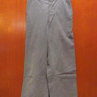 ビンテージ40's●FORSIDEボーイズブラックシャンブレーボタンフライワークパンツW62cm●210518s1-k-pnt-ot 1940s黒シャン古着子供服