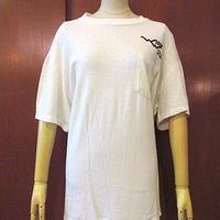 ビンテージ70's●ハングライダープリントポケットTシャツ白●200623s4-m-tsh-otメンズトップスホワイト古着USA飛行