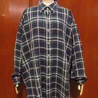 ビンテージ90's●Ralph Laurenコットンチェックボタンダウンシャツsize XL●210306f2-m-lssh-drs古着ラルフローレンBDシャツ