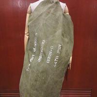 ビンテージ40's●ステンシル入りミリタリーキャンバスダッフルバッグ●210327f8-bag-shdショルダーバッグハンドバッグ軍物カバン