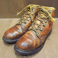 ビンテージ70's●REIトレッキングブーツ茶size 6M●210507n1-w-bt-24cmレイアールイーアイアウトドア革靴レザーブラウンレディース