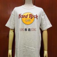 ビンテージ80's90's●Hard Rock CAFE HONG KONG ロゴTシャツ XL●210506s1-m-tsh-ot ハードロックカフェ半袖トップス古着