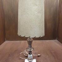 ビンテージ~70's●クリスタルテーブルランプ●201216n2-lmp 60s1960s1970sガラス石スタンドライト照明