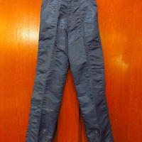 ビンテージ80's●NOTORIOUSレディースナイロンパラシュートパンツ紺 Size 3●200903s6-w-pnt-ot-w23 ネイビーボトムス古着