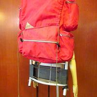 ビンテージ60's●KELTY ナイロンフレームパック赤●200911s8-bag-bp バックパックアウトドア登山リュックサック