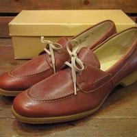 ビンテージ70's80's●DEAD STOCK FOOT-SO-PORTレザーシューズSize8B●210519s10-w-dshs-255cm 1970s1980sデッドストックレディース革靴